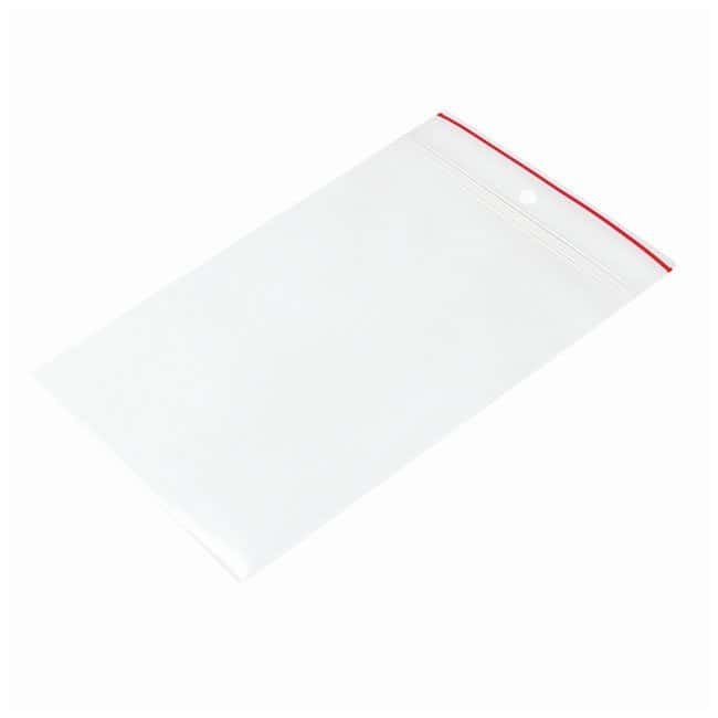 Minigrip Red Line Plain Reclosable Zipper Bags Dimension: 4 x 6 in. (10.16