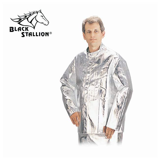 Black Stallion Aluminized Heat-Resistant Coats and Pants:Gloves, Glasses