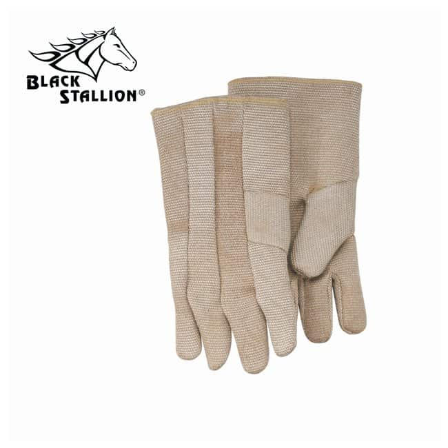 Black Stallion High-Temperature Double-Lined Gloves 36 oz. fiberglass;