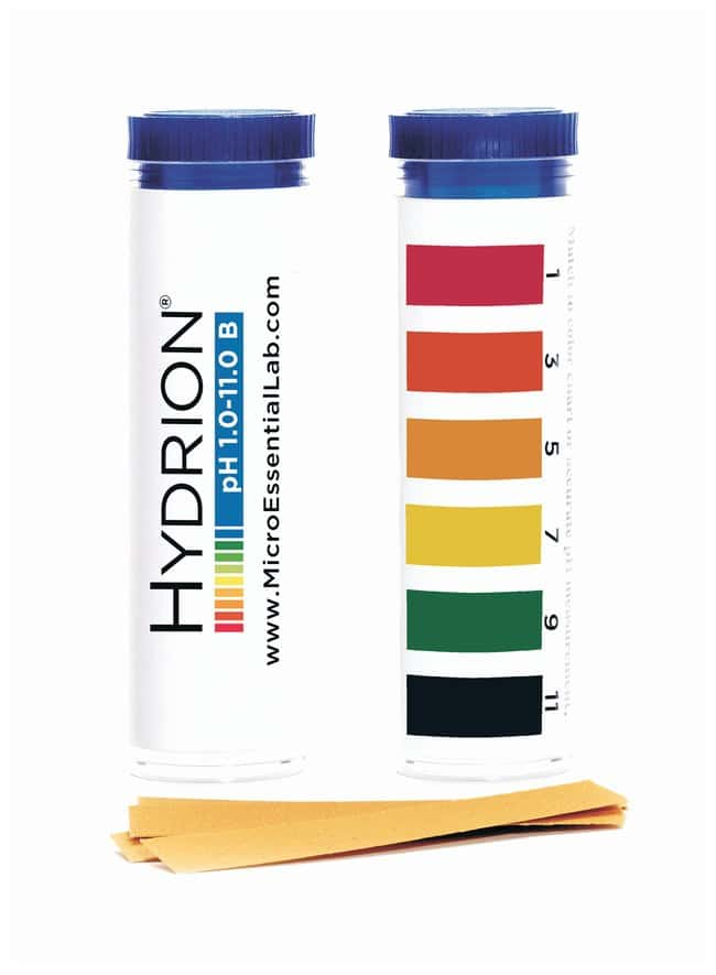 Hydrion™ pH Test Papers, Wide-Range