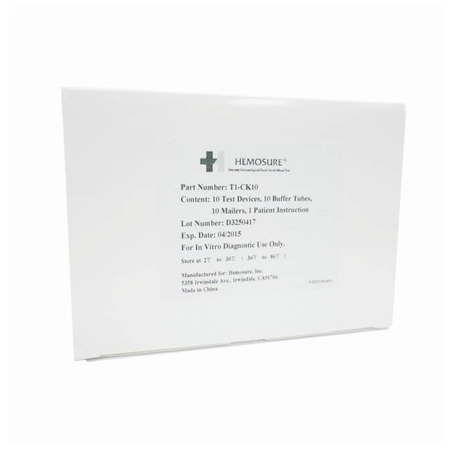 Hemosure iFOB Test Kits:Healthcare:ClinicDx Products