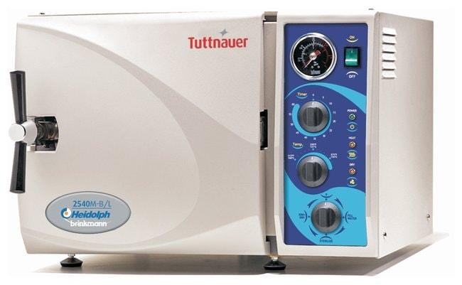 HeidolphTuttnauer Benchtop Sterilizers: M Series Model: 2540M; 120V:Sterilizers