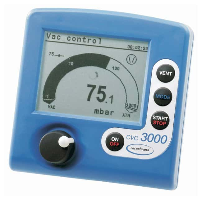 VACUUBRAND&trade;&nbsp;CVC3000 <i>detect</i> Integrierte Vakuumregelsysteme Tischausführung; 100-240V, 50-60Hz VACUUBRAND&trade;&nbsp;CVC3000 <i>detect</i> Integrierte Vakuumregelsysteme