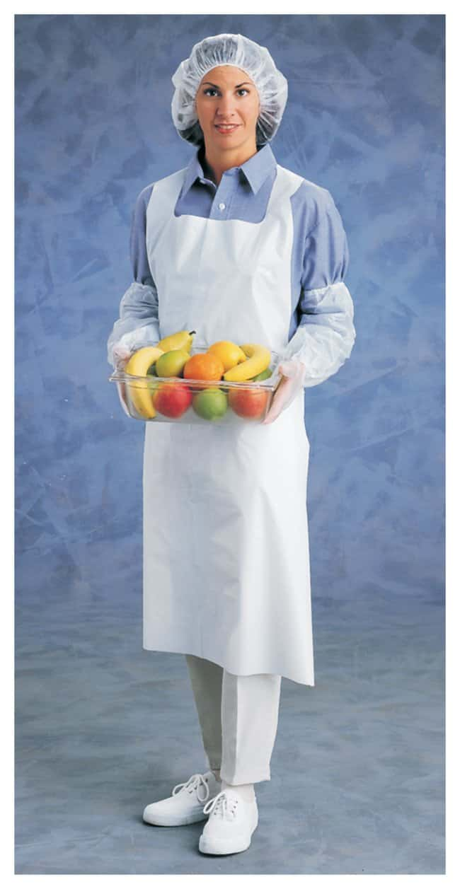 Ansell™ SP Scienceware™ White Plastic Aprons