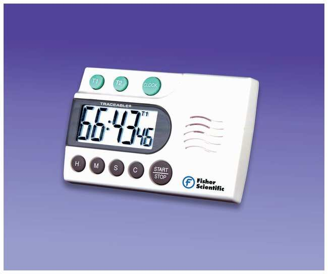 fisherbrand traceable extra loud laboratory digital timer timer range rh fishersci com Fisher Scientific Stopwatch Manual fisher scientific timer instructions