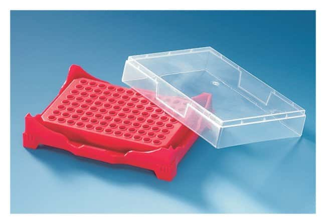 BRANDPCR Box/Rack PCR box/rack; Pack includes one each of red, yellow,