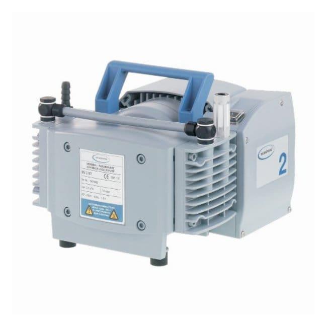 VACUUBRAND™Bombas de vacío de diafragma VACUUBRAND™ NT: MZ 2 NT MZ2 NT; Ultimate Vacuum: 5Torr (7mbar); Free Air Capacity: 37lpm (1.3cfm); 230V, CEE plug VACUUBRAND™Bombas de vacío de diafragma VACUUBRAND™ NT: MZ 2 NT