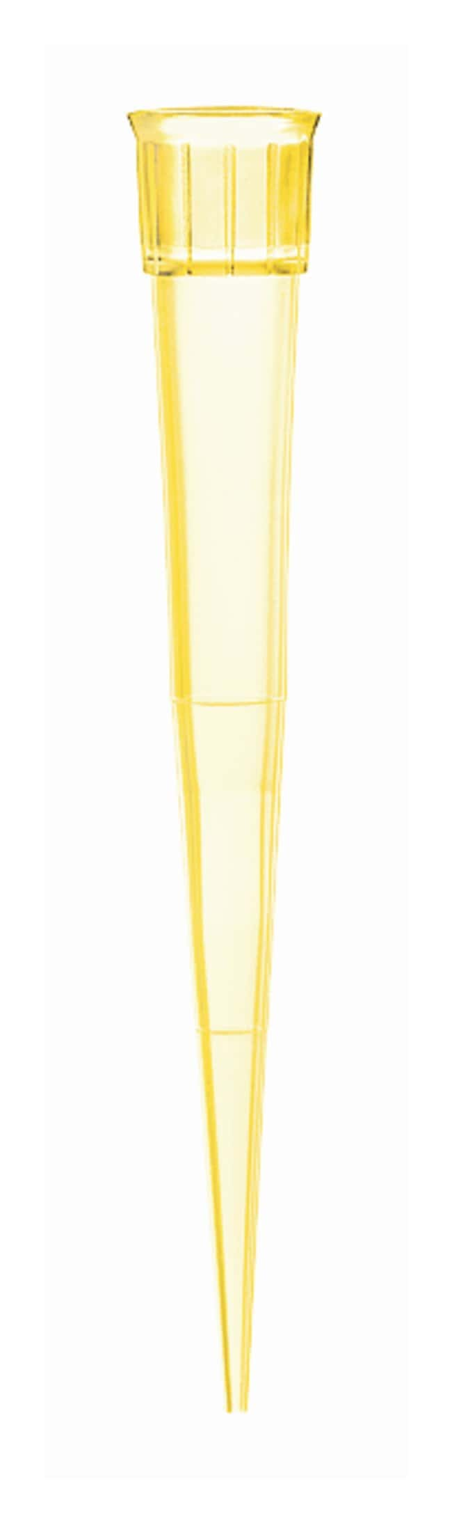 BRAND™Pipet Tips, 2 to 200uL: Standard Retention Yellow; Bulk packed in one bag of 10,000 pieces products