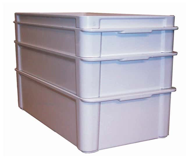 MFG Tray Stacking Containers 22.7L (6.0 gal.); 59.2 L x 30.5 W x 15.2cm