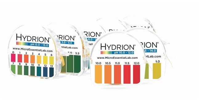 Micro Essential LabpH Pocket Test Set pH range: 0.0-13.0; Seven pH papers,