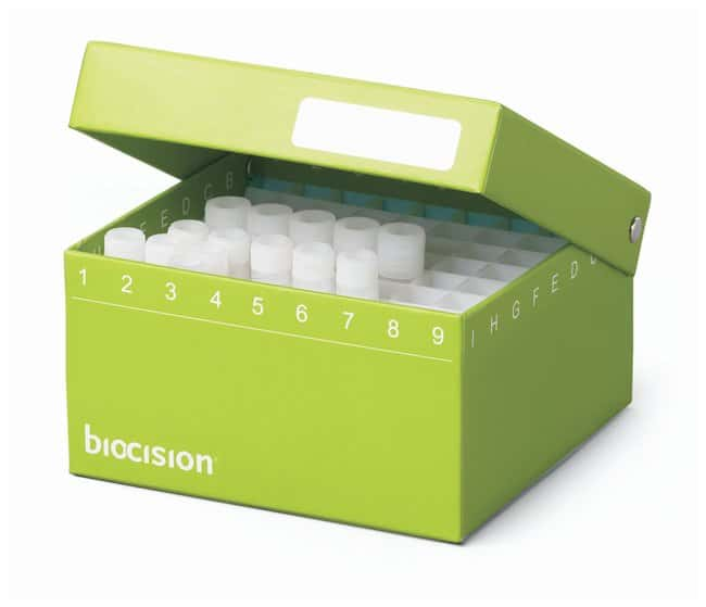 BioCisionTruCool Hinged Cryoboxes with 81-Place Grid:Boxes:Cryogenic and