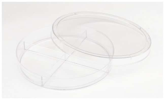 FisherbrandCompartmentalized Petri Dishes Quad Dish; X-Plate; Stackable