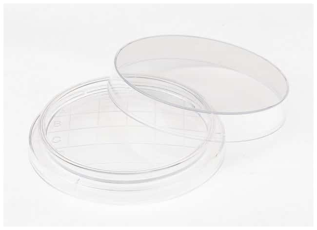 FisherbrandPetri Dishes Specialty Contact Plate; Slippable Lid, No Ridge:Dishes