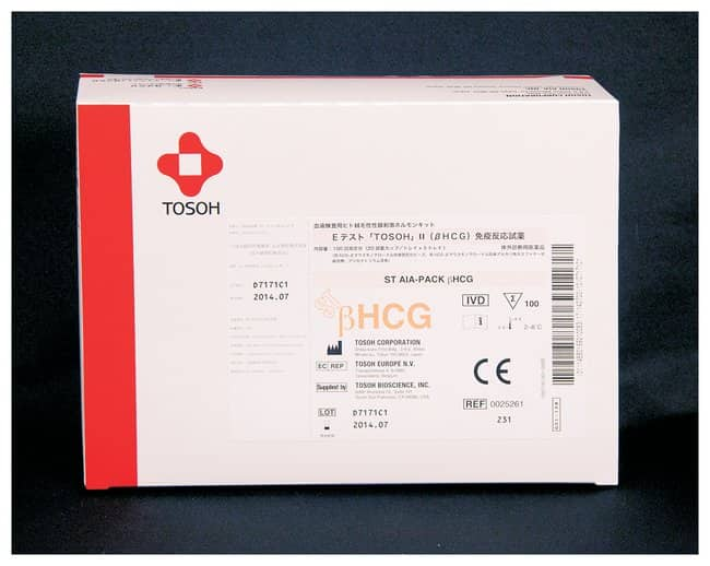 Tosoh Bioscience AIA-PACK Test Cups: Human Chorionic Gonadotropin (Total
