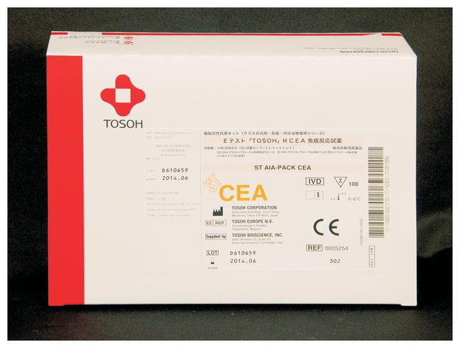 Tosoh Bioscience AIA-PACK Test Cups  CEA (Carcinoembryonic Antigen):Diagnostic