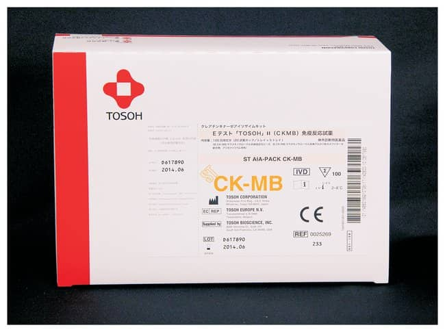 Tosoh Bioscience AIA-PACK Cardiac Markers Assays: Assay Test Cups AIA-PACK