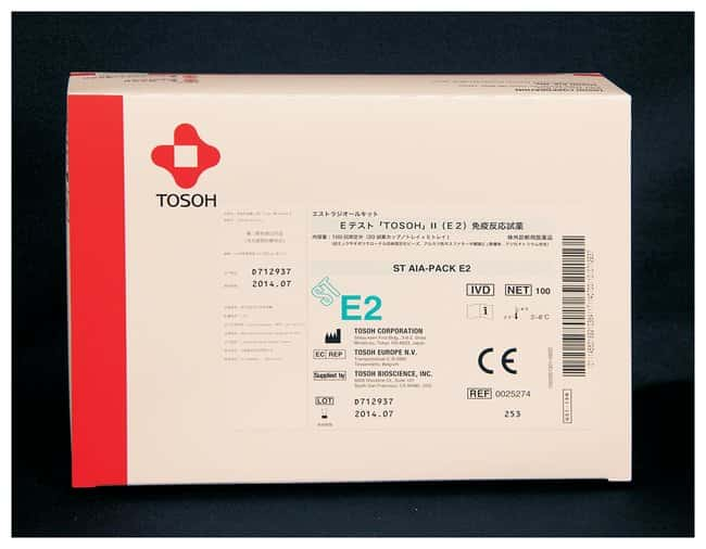 Tosoh Bioscience AIA-PACK Test Cups: Estradiol AIA-PACK Test Cups; Estradiol:Diagnostic