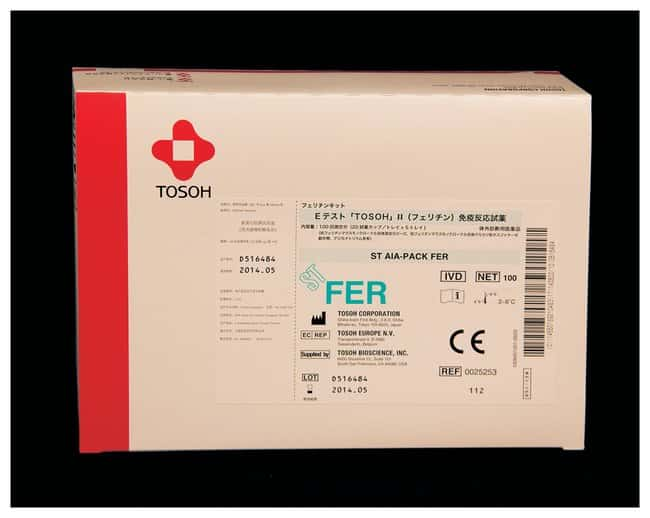 Tosoh Bioscience AIA-PACK Test Cups - FER (Ferritin):Diagnostic Tests and