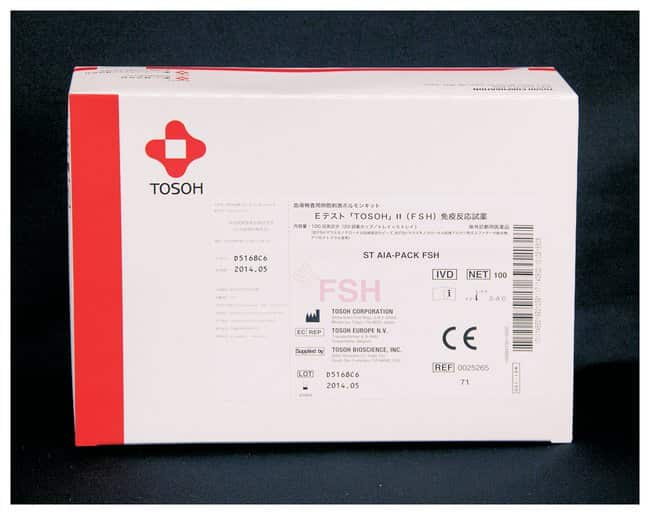 Tosoh Bioscience AIA-PACK Test Cups: Follicle Stimulating Hormone AIA-PACK