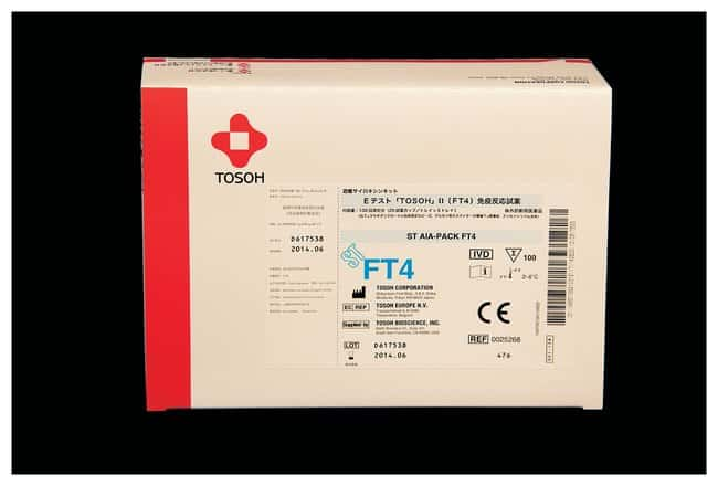 Tosoh Bioscience AIA-PACK Test Cups - FT4 (Free Thyroxine):Diagnostic Tests