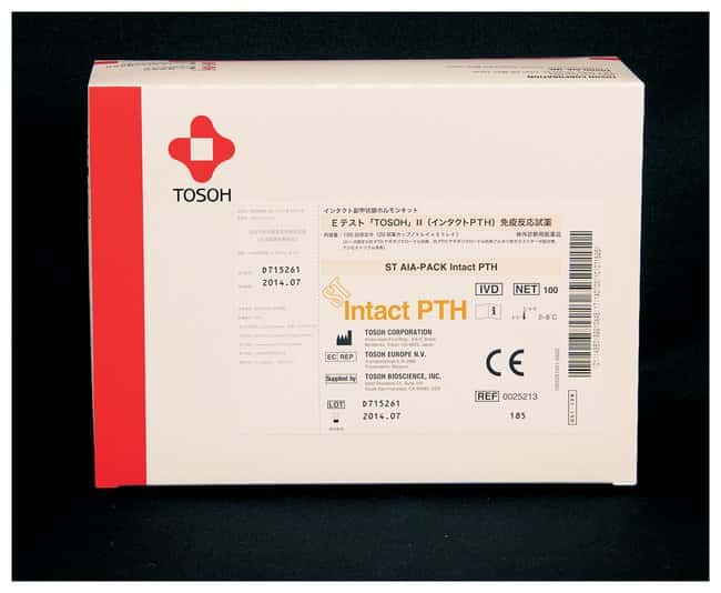 Tosoh Bioscience AIA-PACK Intact PTH Assay Kit Kidney marker assay kit;