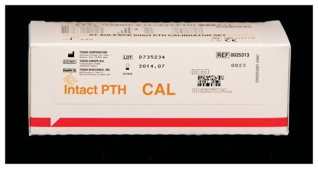 Tosoh Bioscience AIA-PACK Intact PTH Assay Kit Calibrator set; 12 x 1mL:Diagnostic