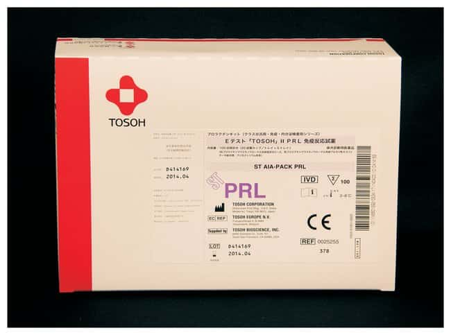 Tosoh Bioscience AIA-PACK Test Cups: Prolactin AIA-PACK Test Cups; Prolactin:Diagnostic