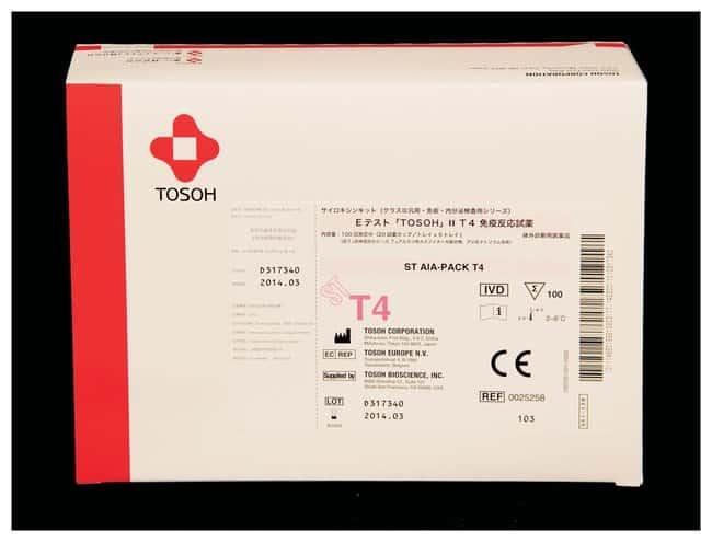 Tosoh Bioscience AIA-PACK Test Cups - T4 (Thyroxine):Diagnostic Tests and