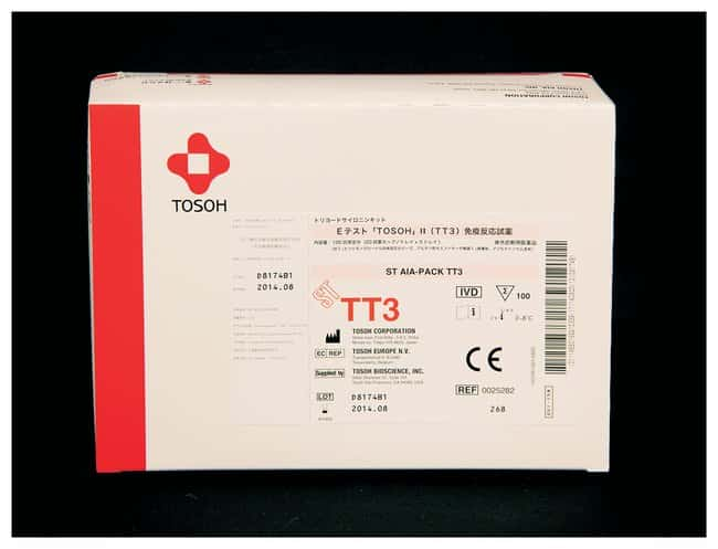 Tosoh Bioscience AIA-PACK Test Cups - TT3 (Triiodothyronine):Diagnostic