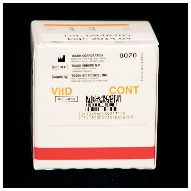 Tosoh Bioscience ST AIA-PACK 25-OH Vitamin D Assay:Diagnostic Tests and