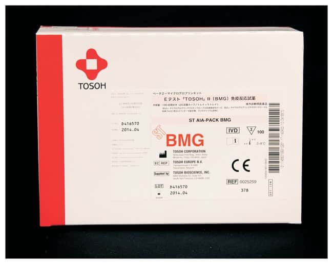Tosoh Bioscience AIA-PACK Unit Dose Test Cups Beta-2-Microglobulin (BMG)