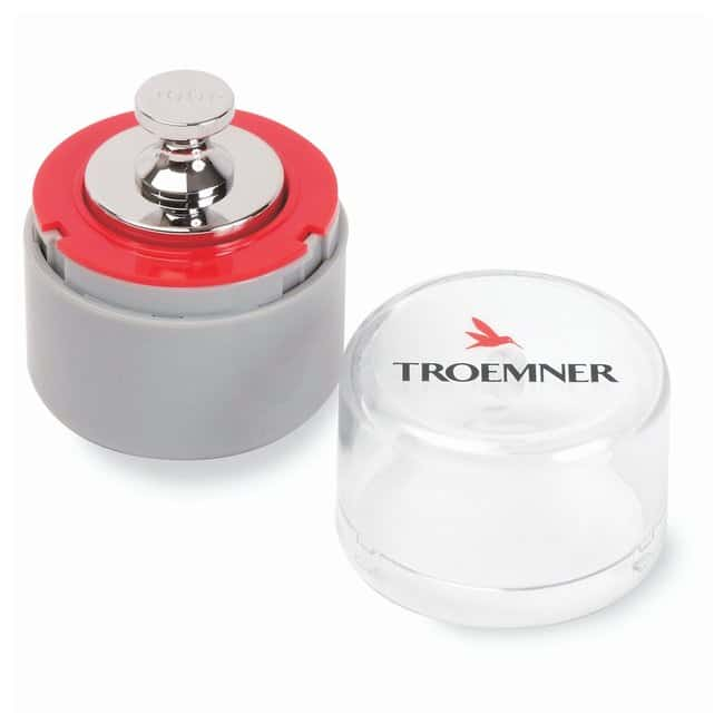 Troemner™ Individual Analytical Precision Weights, Class 3 with Traceable Certificate