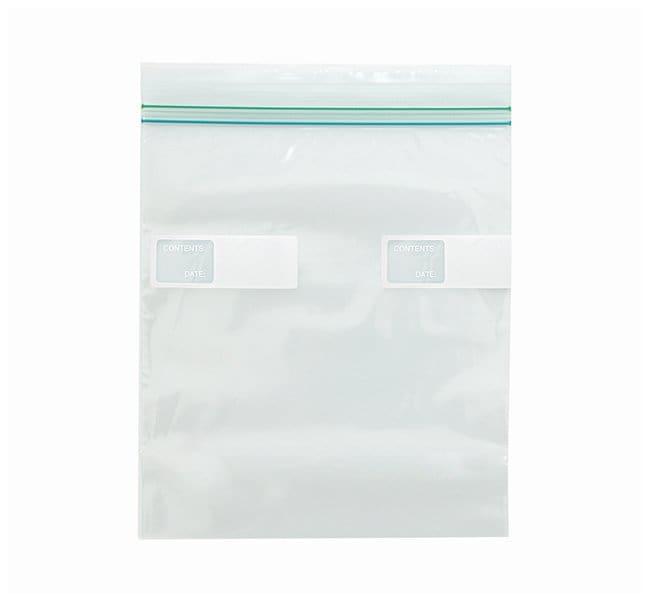 Minigrip COLORZIP Food Storage Bags Quart Storage Double Zipper; Film gauge: