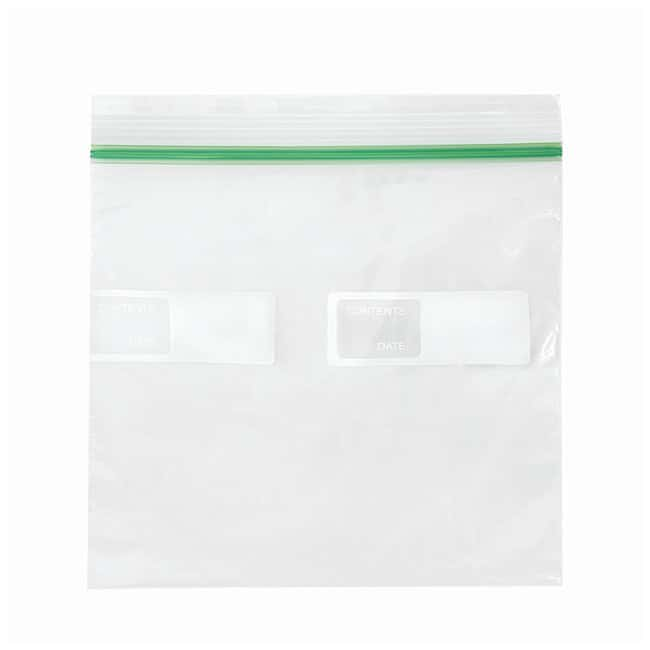 Minigrip COLORZIP Food Storage Bags Sandwich Single Zipper; Film gauge: