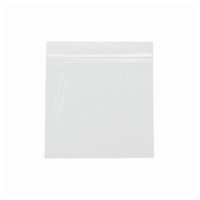 Minigrip 2 MIL Plain ZIPPIT Reclosable Zipper Bags Size: 5 x 5 in.; Pack