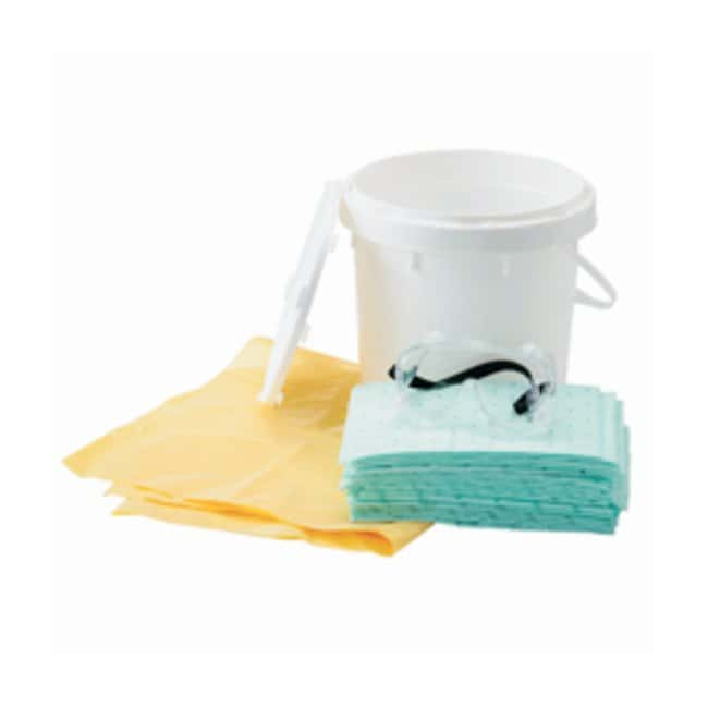 Brady™ 2-Gallon Spill Response Plus Retail Spill Kit