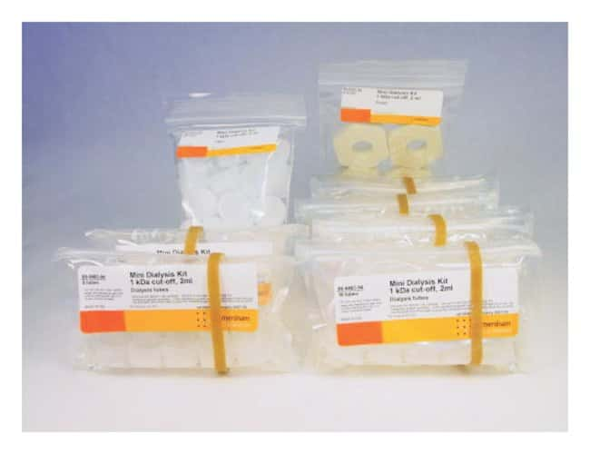 GE Healthcare Mini Dialysis Kits 1kDa cutoff; 2mL:Life Sciences