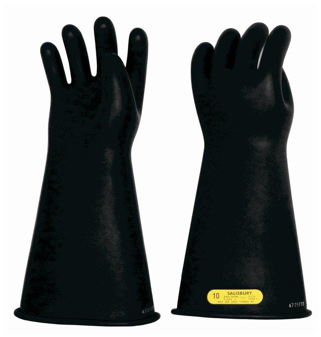 Honeywell Salisbury Class 2 Black Lineman's Gloves Class 2; Black; Size:
