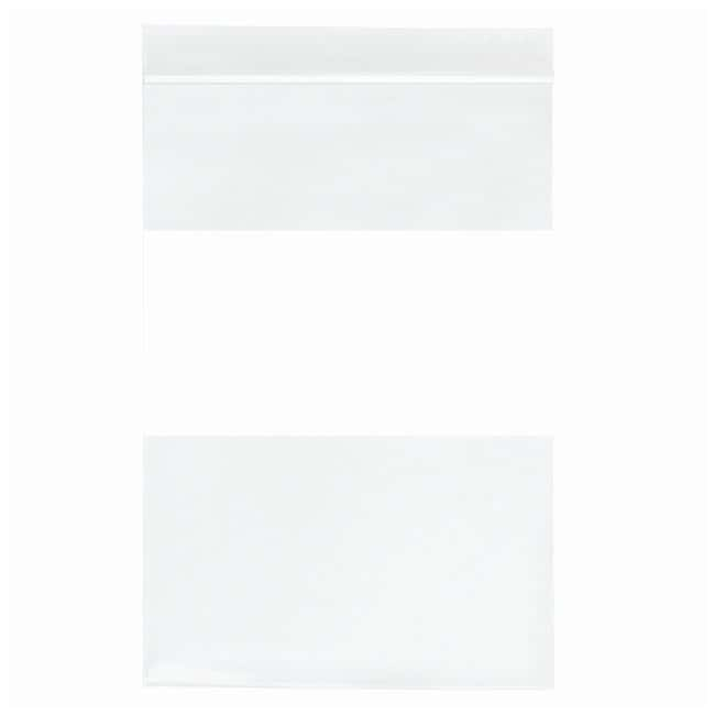 Minigrip™ 2 MIL Plain ZIPPIT™ Reclosable Zipper Bags with White Block