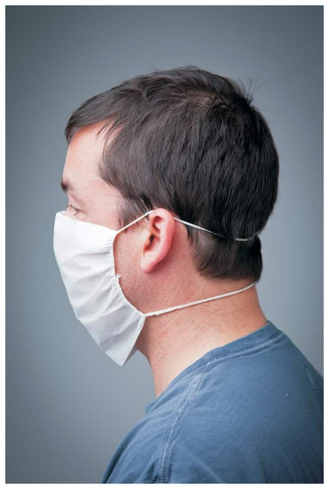 VAI PF-2 Face Masks 9 in. nosepiece; Sterile:Gloves, Glasses and Safety