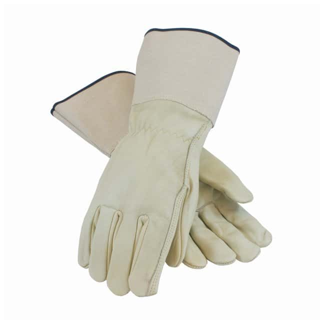 PIP Top Grain Cowhide Leather Drivers Glove with Pull Strap Closure Leather;