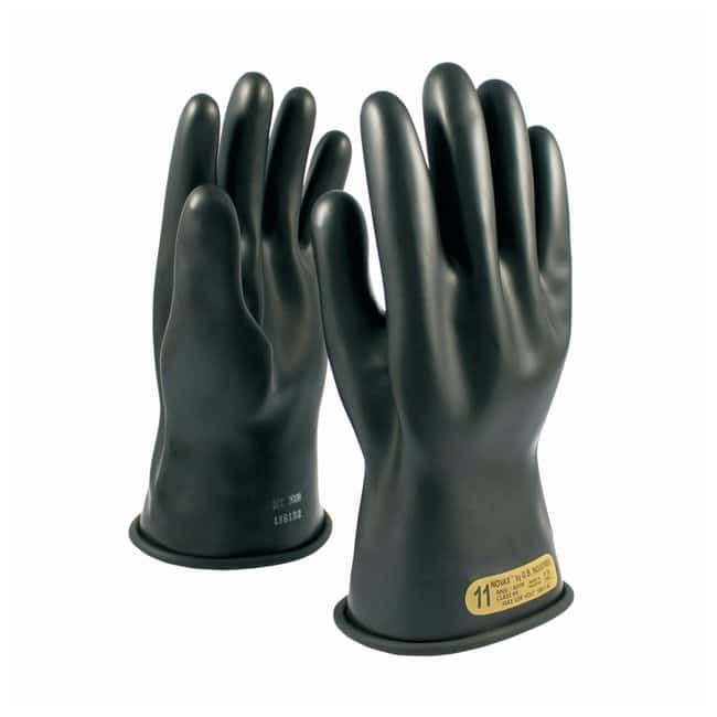PIP NOVAXElectrical Insulation Gloves Class 0; 11 in. L (27.9cm); Black;