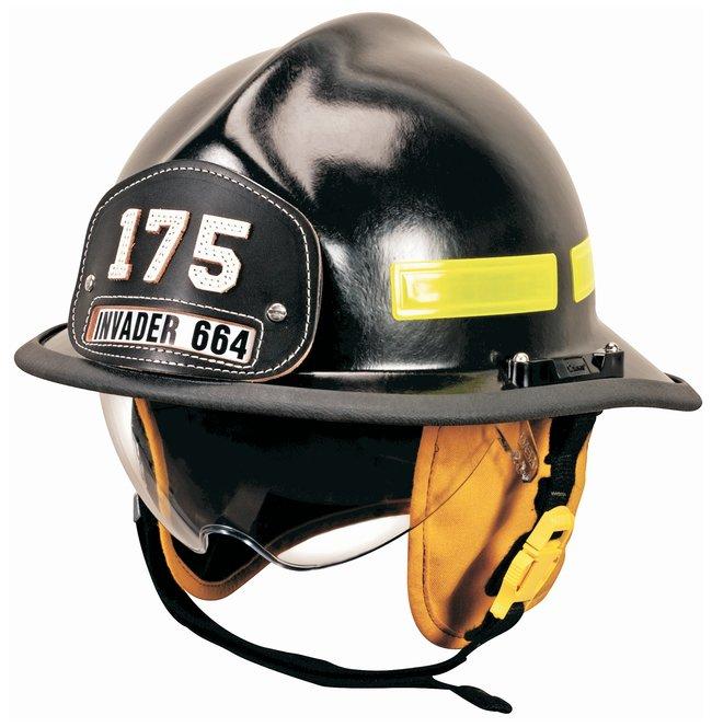 MSA™Cairns™ Invader 664 Fire Helmets: Tuffshield