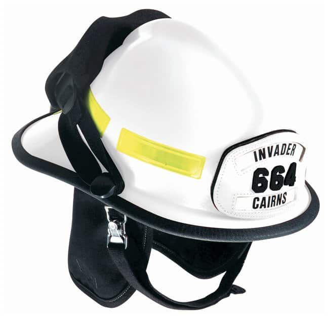 MSA™ Cairns™ Invader 664 Fire Helmets: Cairns Goggle System