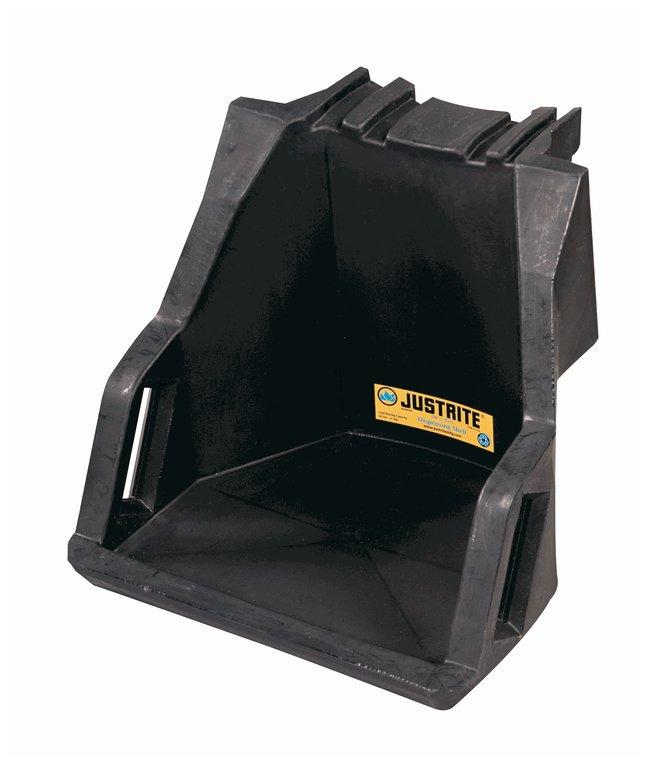 Justrite™EcoPolyBlend™ Drum Management System Dispensing shelf; Capacity: 27kg (60 lb.) Justrite™EcoPolyBlend™ Drum Management System