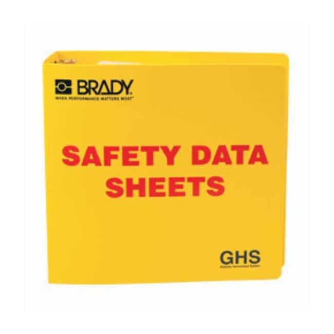 Brady Globally Harmonized System (GHS) SDS Binders ::