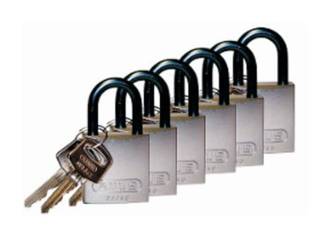 Brady™ Keyed Different Aluminum Padlocks with 1 in. Shackle Locks