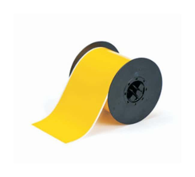 Brady™ BBP™ Temperature Label Stock 2.25 in. x 100 ft.; Yellow Brady™ BBP™ Temperature Label Stock