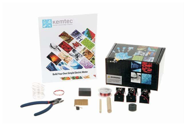 Kemtec™ Build Your Own Simple Electric Motor Kit<img src=