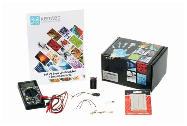 Kemtec™ Building Simple DC Circuits with Real Electronic Components Kit
